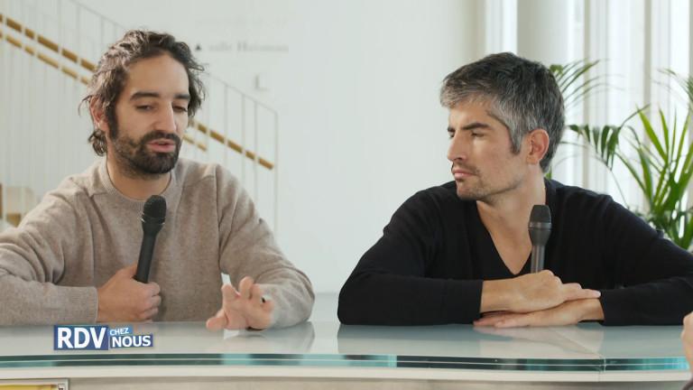 David Murgia et Philippe Orivel