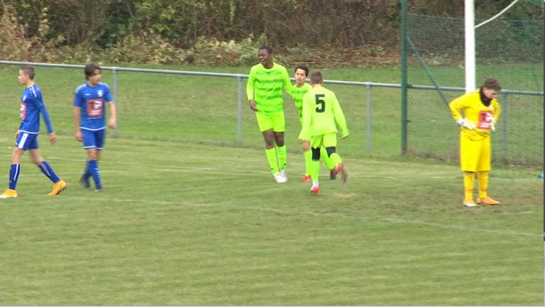 U14: Libramont domine Arlon en seconde période
