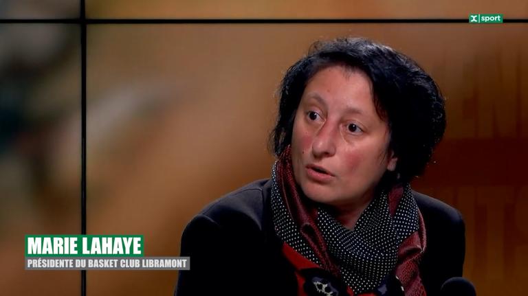Marie Lahaye (BC Libramont) ne s'attend pas à une reprise des compétitions avant janvier