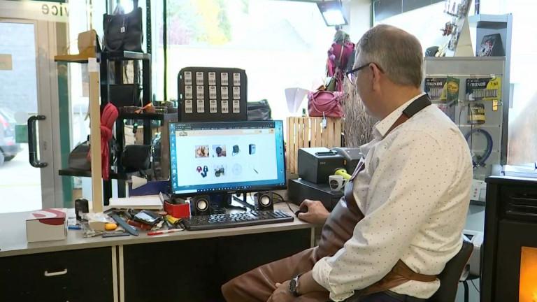 Bertrix : les commerçants ont adopté un système de commande en ligne