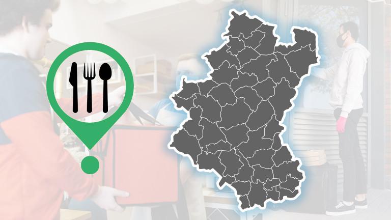 Carte : où trouver des plats à emporter ?
