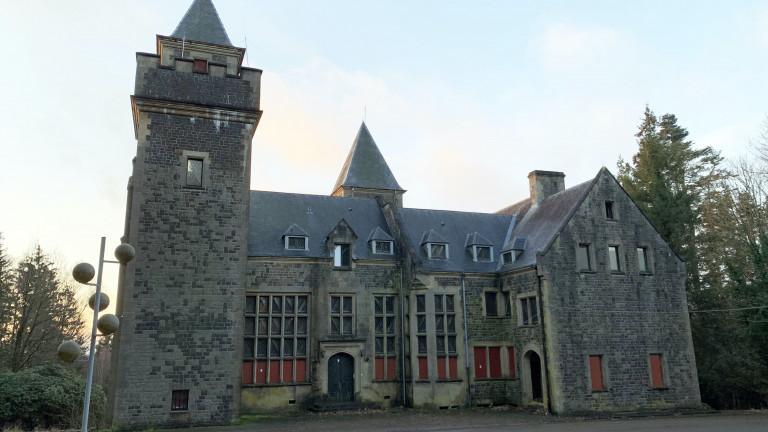 A vendre à Sainte-Ode :  le domaine du Celly, son château et ses 80 ha