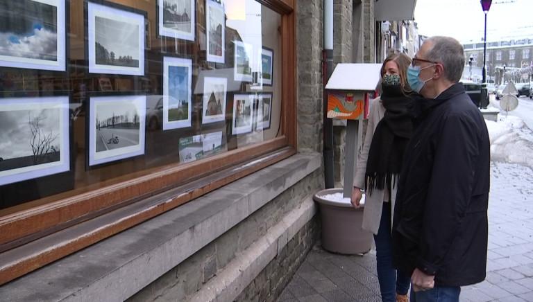 """Exposition photos dans les vitrines: """"Bastogne, printemps 2020"""" par André Georges"""