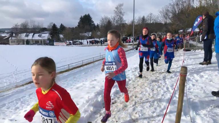 Arlon. Reprise des cross sous la neige pour les jeunes athlètes