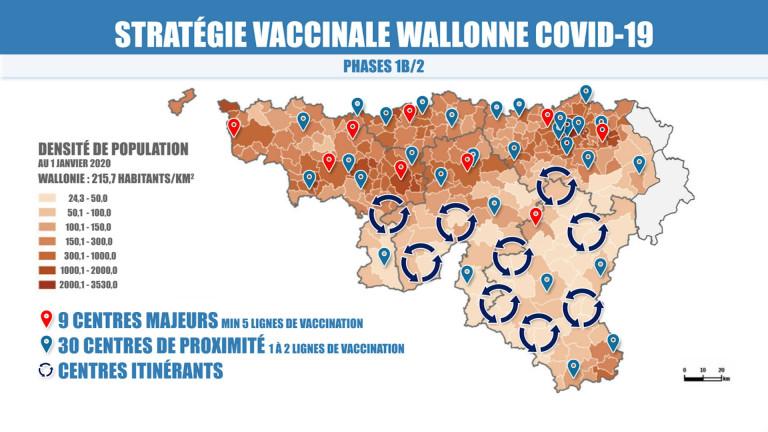 Province. La répartition des centres de vaccination fait débat
