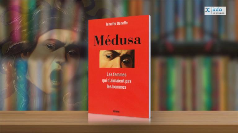 Médusa et Pseudonymes, 2 livres de la Libramontoise J. Deneffe