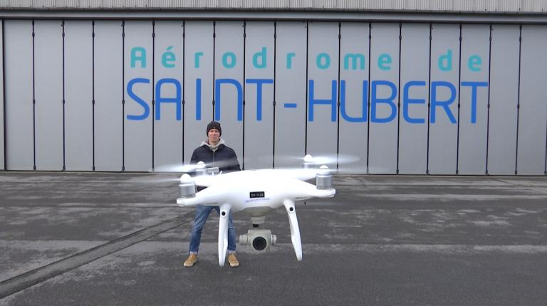Bientôt une école de drone à Saint-Hubert