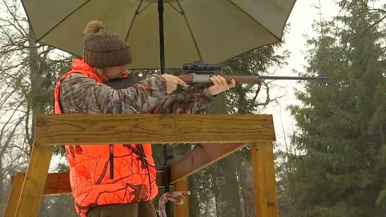 Les femmes aussi pratiquent la chasse