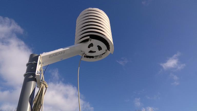 Un réseau météo pour relever les températures dans nos vallées