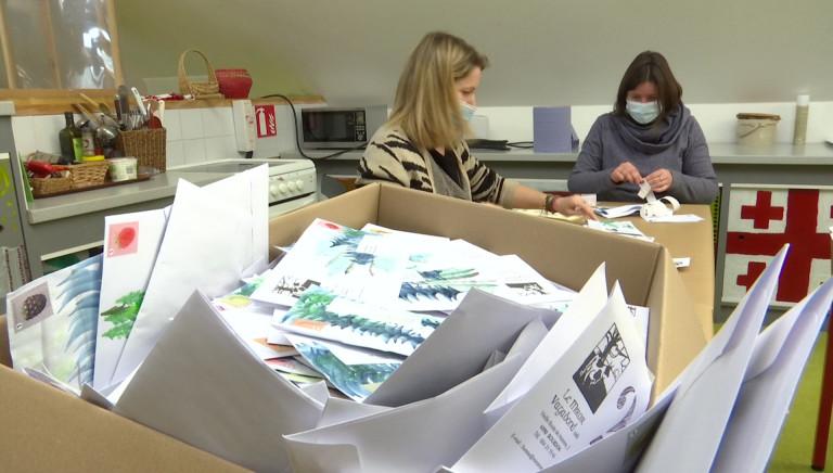 Projet épistolaire. 400 courriers partent tous les 15 jours de l'asbl Miroir Vagabond!