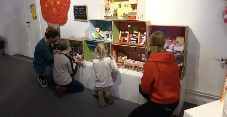 Les élèves de Bourdon exposent au centre culturel de Hotton