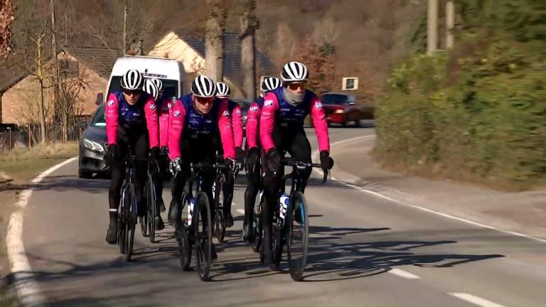 Présentation du nouveau team Carbon Bike Discar