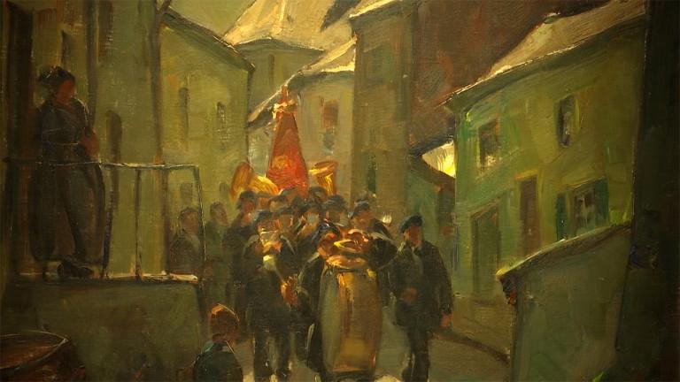 Albert Raty à l'honneur au musée ducal de Bouillon