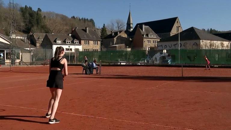 Houffalize : retour sur les terrains de tennis