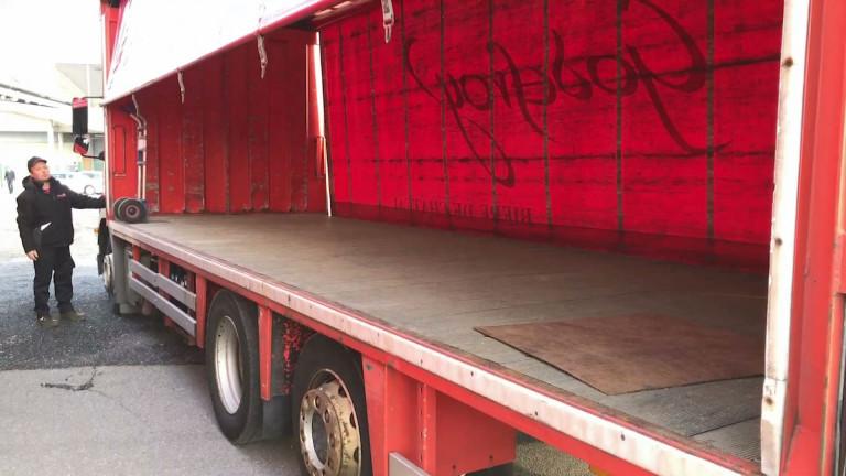 Libramont : des camions de brasseur désespérément vides
