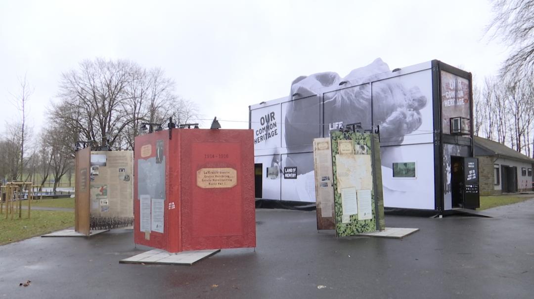 Bastogne: une expo itinérante sur l'histoire partagée de la Grande Région