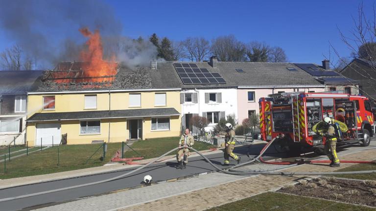 Incendies en série ce samedi en Luxembourg