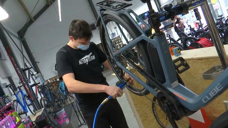 Libramont : les vélocistes sont débordés