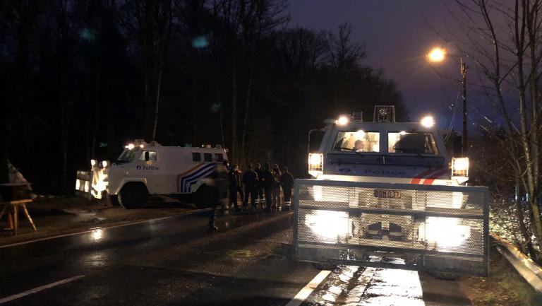 Arlon. La ZAD a été évacuée sans faire de blessés