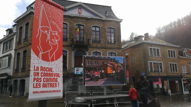 Une touche de carnaval à La Roche et Florenville