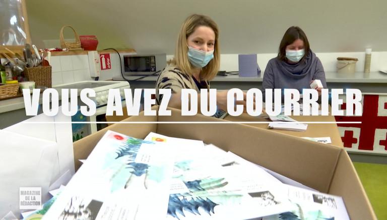 """""""Vous avez du courrier"""", gros plans sur le projet épistolaire de l'asbl Le Miroir Vagabond"""