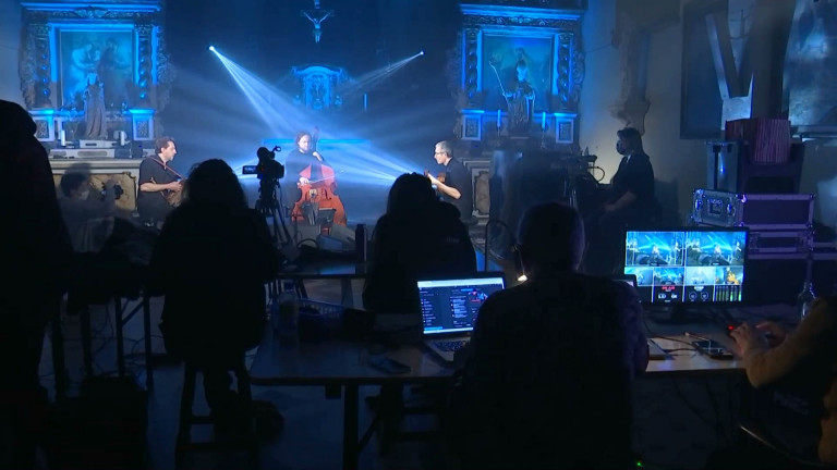 Vance : Quentin Dujardin et Didier Laloy en direct de l'église
