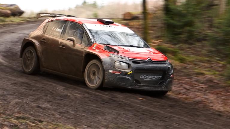 WRC3 : Nicolas Ciamin (FR) était en test à Bouillon cette semaine