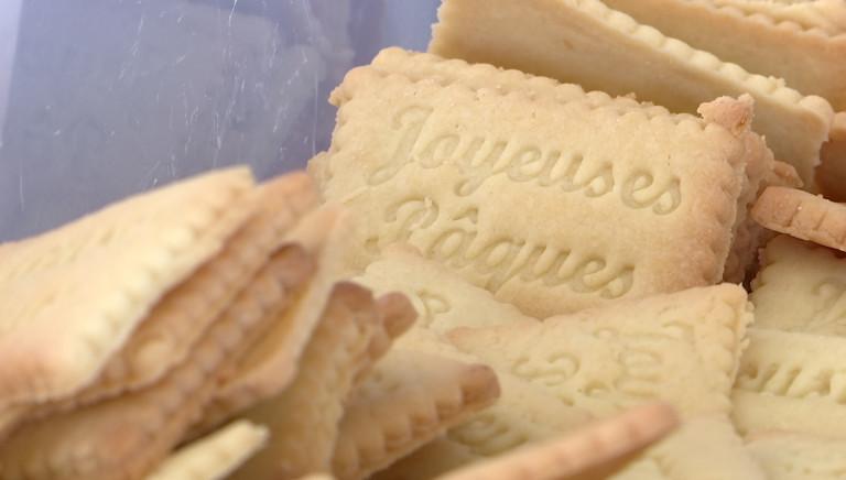 """Original à Frassem: la biscuiterie """"Ohlala c'est bon"""" propose des paniers de Pâques"""