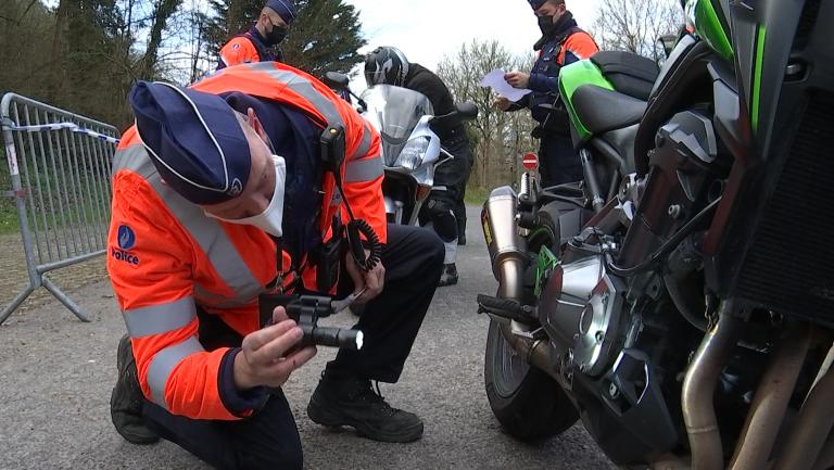 Durbuy: les motards sensibilisés au bruit