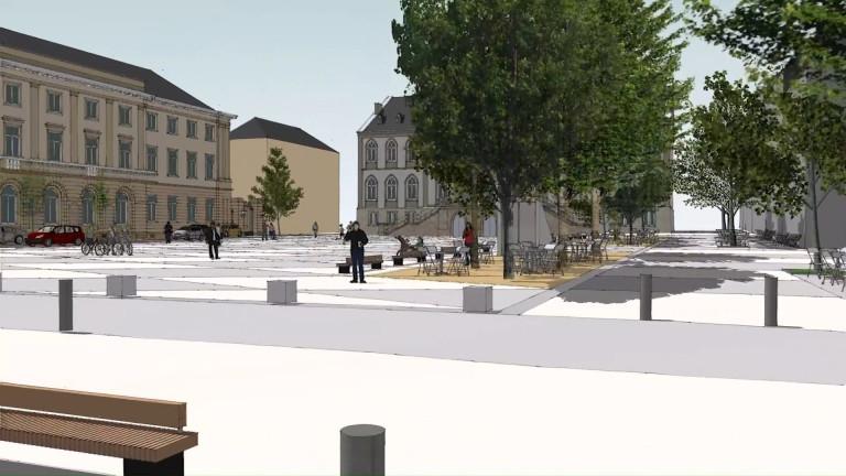 Arlon : les travaux de la Place Léopold débuteront bientôt
