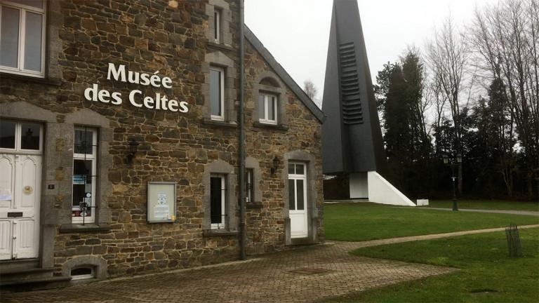 Le musée des Celtes bientôt agrandi sur la place communale.
