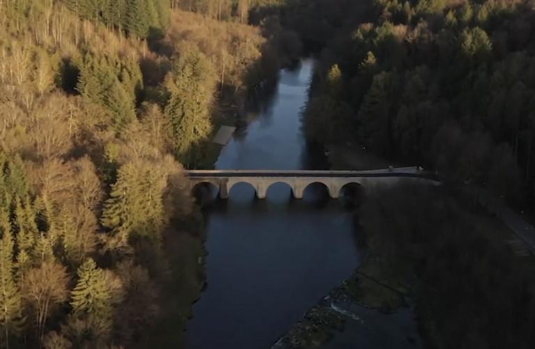 Chiny : la rénovation du pont Saint-Nicolas touche à sa fin