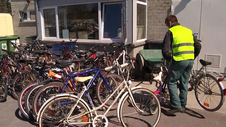 995 vélos récoltés dans les recyparcs Idelux, un record