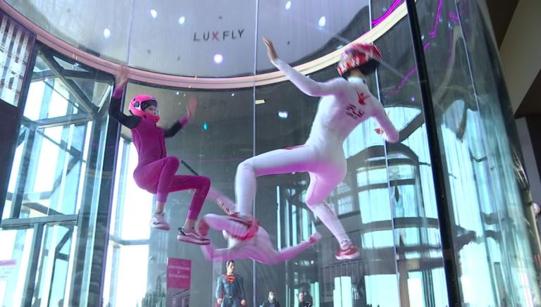 Le simulateur de chute libre se dote d'un musée