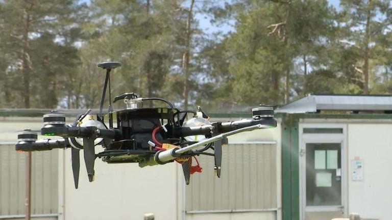 Bertrix : un drone contre les frelons asiatiques