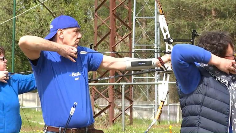 Les Archers Arlonais ont repris les entraînements sur... le terrain de football de Freylange