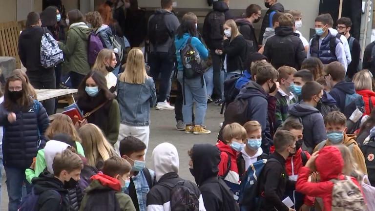 Virton : tous les élèves du secondaire à nouveau à l'école