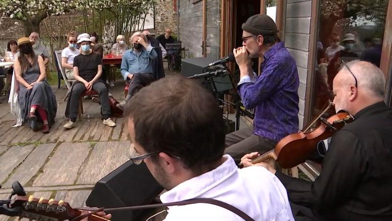 Retour de la musique dans les jardins du Bouillon Blanc