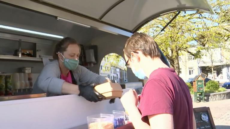 Bertrix : succès pour son food truck ouvert en pleine pandémie