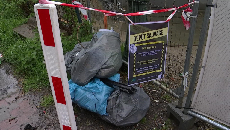 Libramont. Des scènes de crimes créées atour des dépôts sauvages de déchets
