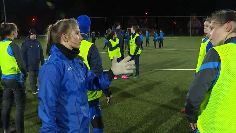 La Melreusienne Joséphine Delvaux retrouve Aline Zeler au Sporting de  Charleroi
