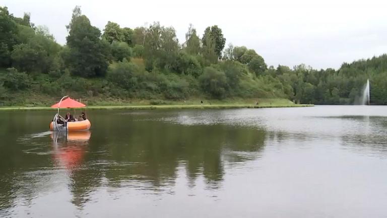 Lac de Neufchâteau. La baignade sera autorisée cet été