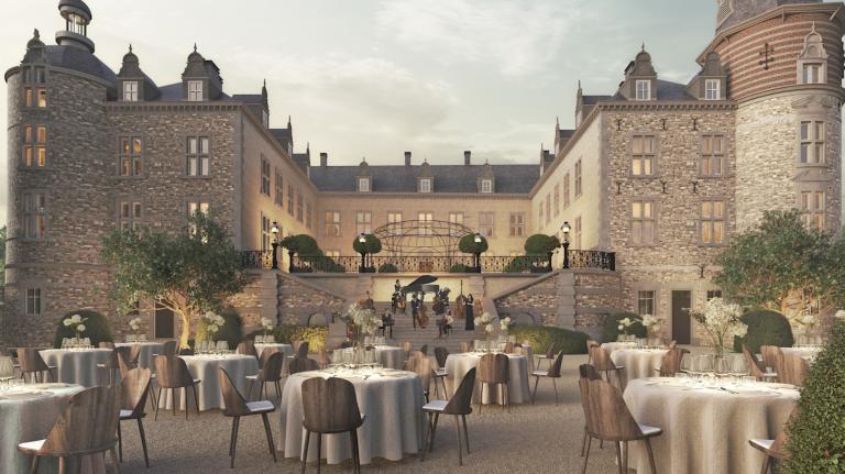 L'ouverture du château de Mirwart prévue pour le 1er août