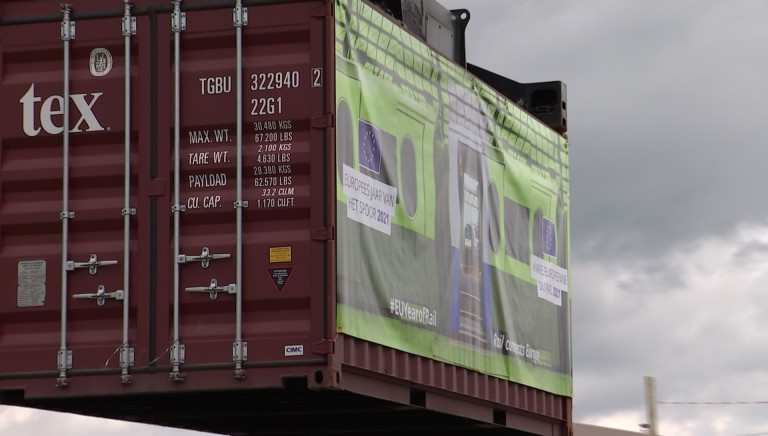 Année européenne du rail. Le Terminal container d'Athus bientôt connecté à Mont-Saint-Martin (France)