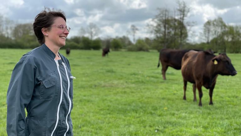 Orsinfaing : Anne Calay élève du bœuf Wagyu, une viande d'exception