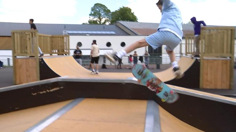 Arlon. Succès pour le nouveau skate park à la Spetz