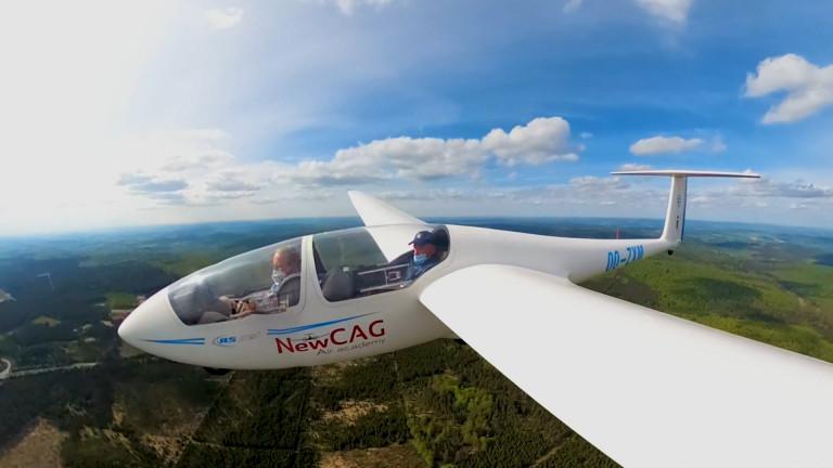 Des planeurs dans le ciel de Saint-Hubert pour le championnat de Belgique de vol à voile