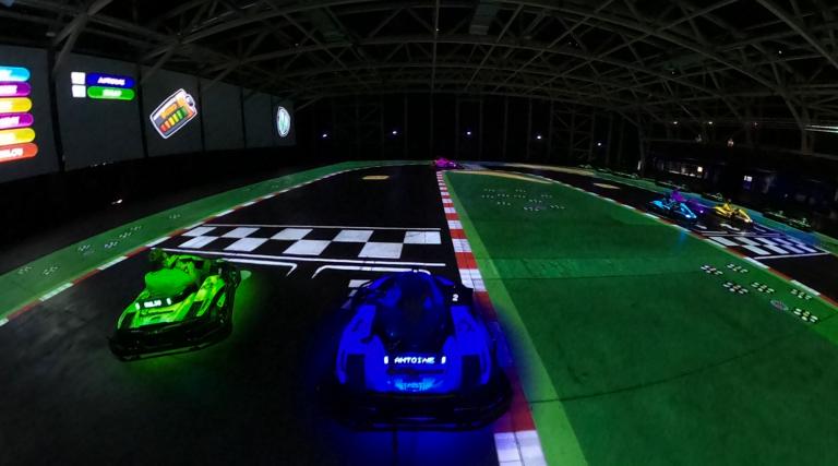 Dès le 9 juin, le WEX proposera Battlekart : du karting sur circuit virtuel