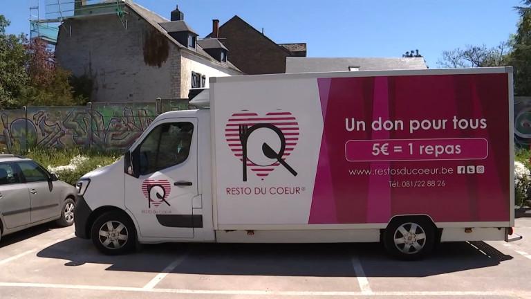 Wellin reçoit le food-truck des restos du coeur tous les mardis