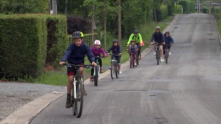 Une balade à vélo organisée par le Relais pour la vie de Marche-en-Famenne